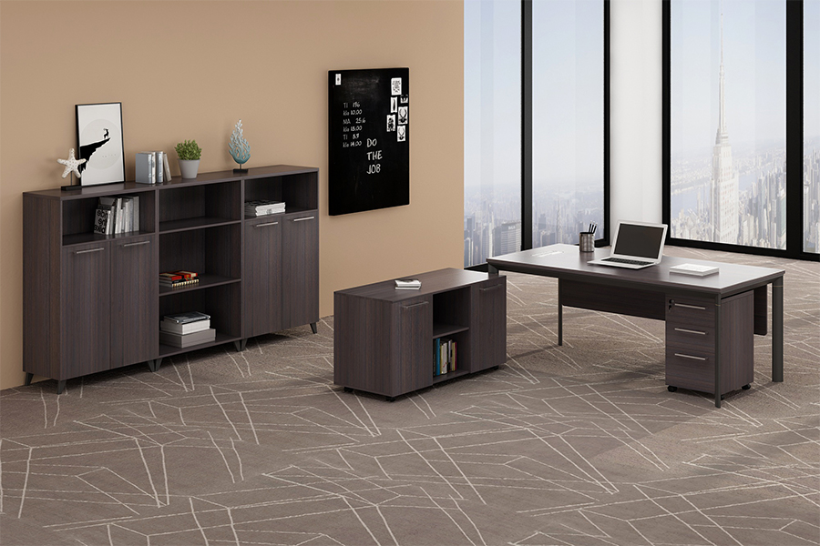 2019 New Metal leg executive desk