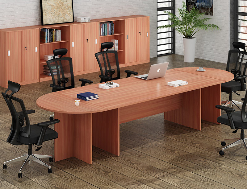 Oval Shaped Meeting Table