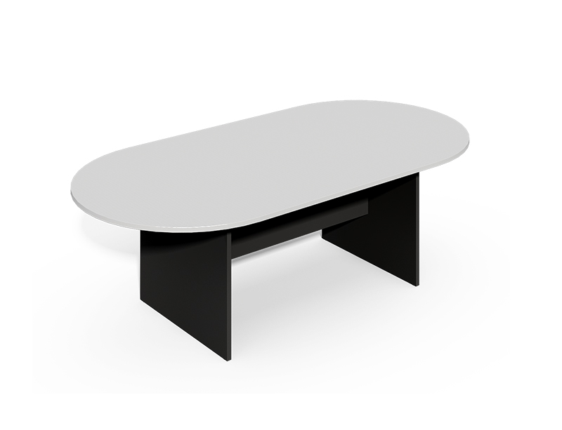 Commercial oval-shape meeting desk for conference room furniture