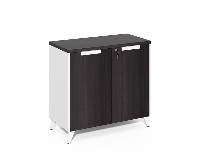 Manufacturer Directly Wholesale Small 2 wooden doors lockable file cabinet