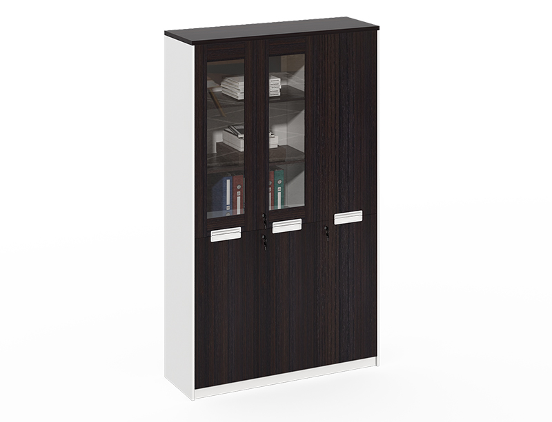 China office furniture Wholesale 4 swing door wood file cabinet CF-CLF0820F