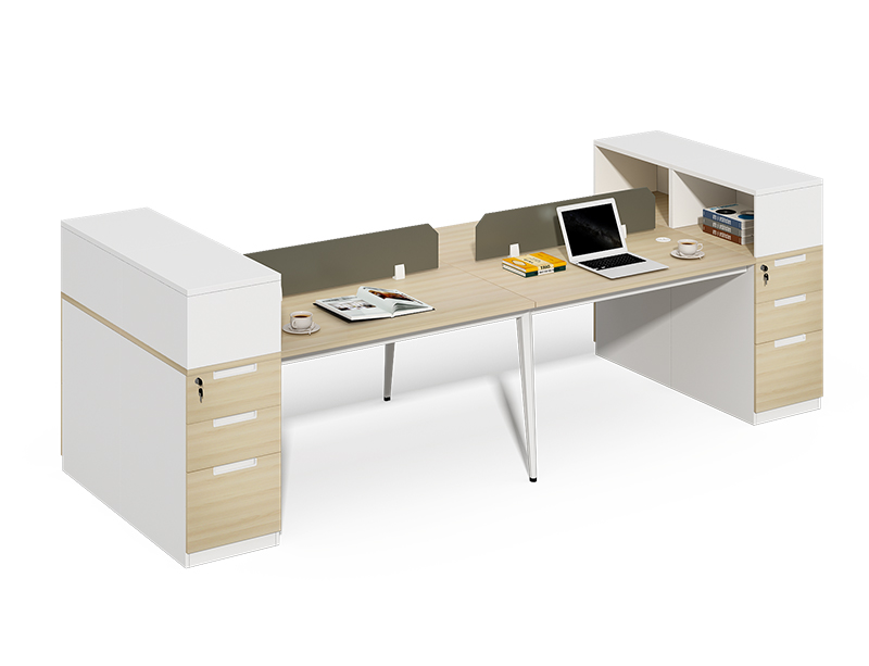 Competitive Price 4 seater office partition with cabinet assembly instructions CF-BKW3212W