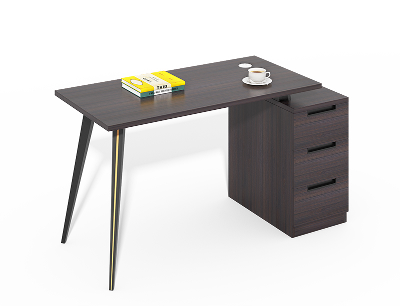 Hot selling simple wooden office desks for small spaces CF-CL1412WA