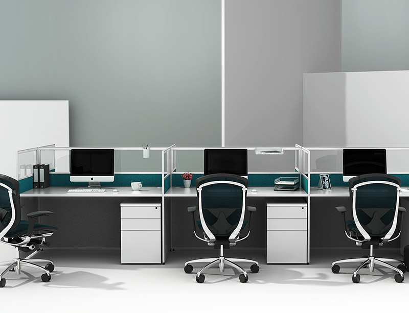 CF-WS201 Full height Staff workstation