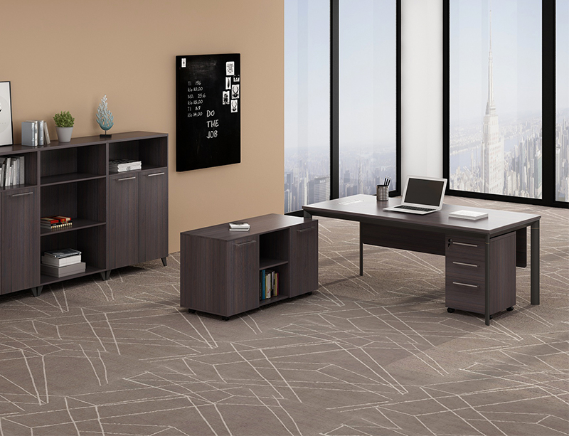 CF-JW2090A 2019 New Metal leg executive desk
