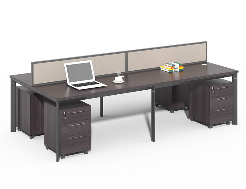 CF-JW2412WE 4 Person Office Partition Desk Design