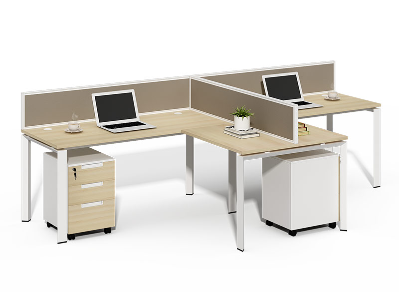2 Seats Office Partition Workstation