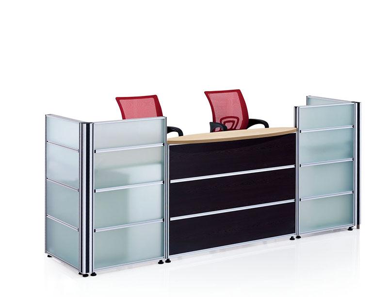 CD-85533 Glass Reception Desk