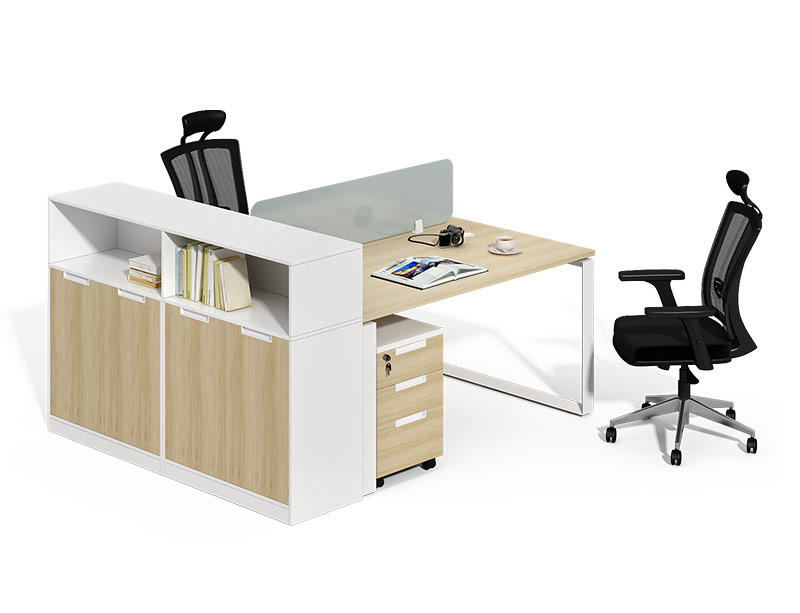 CF-D1612WB Computer Desk With Bookshelf