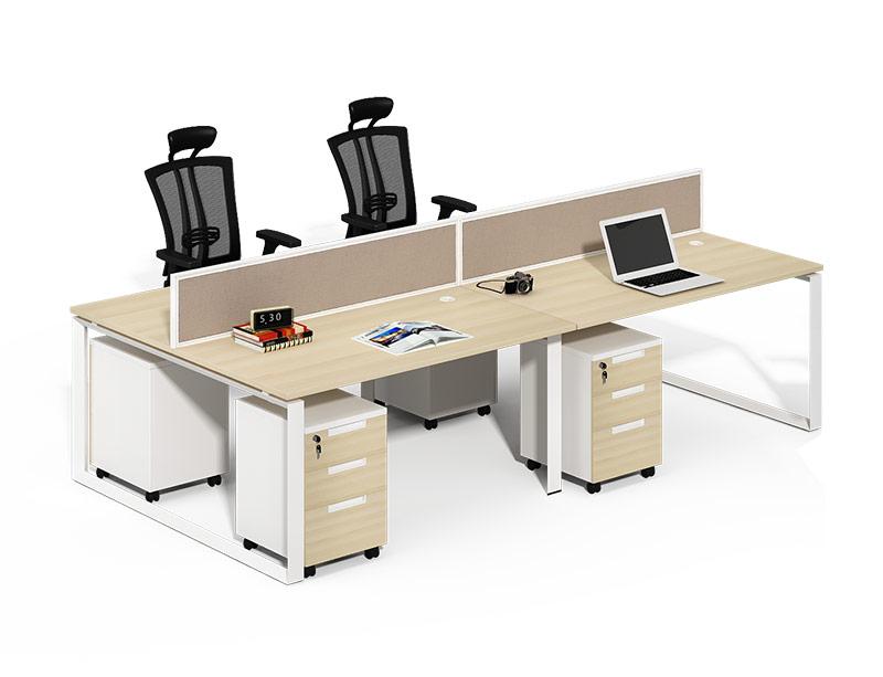 CF-D2412WE Smart Computer Desk Cubical Workstation