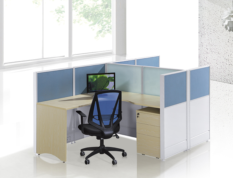 CF-W804 2 person L shape workstation