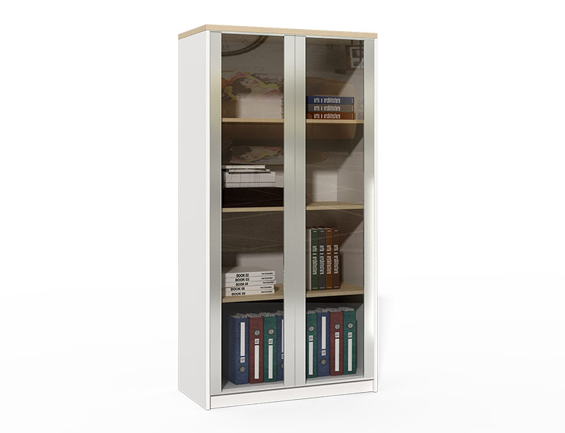 CF-DF0816A Bookcase With Glass Door Model