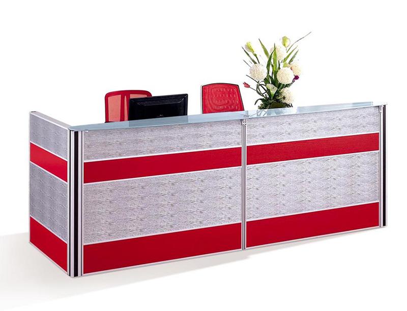 Office Reception Desk Display Case