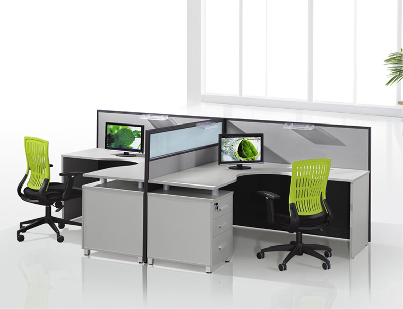 CF-W306 T shape office cubicles