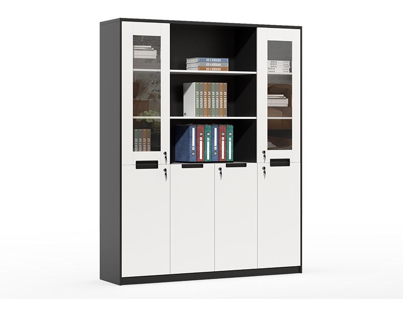 wood frame file cabinet