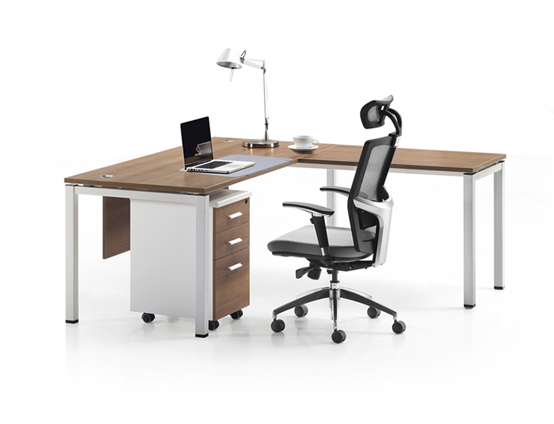 LQ-CD0118 L Shape Office Furniture Executive Desk