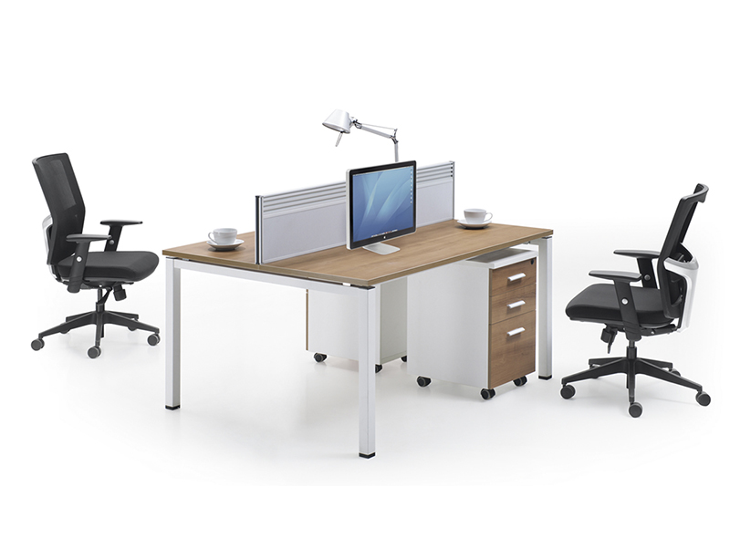 LQ-CD0415 Metal Frame 2 Person Workstation