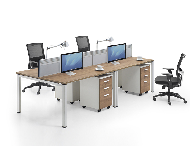 LQ-CD0415 (2T) 4 Person Workstation Metal Frame