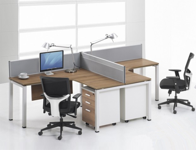 LQ-CD0528 metal Frame Workstation for 2 Person