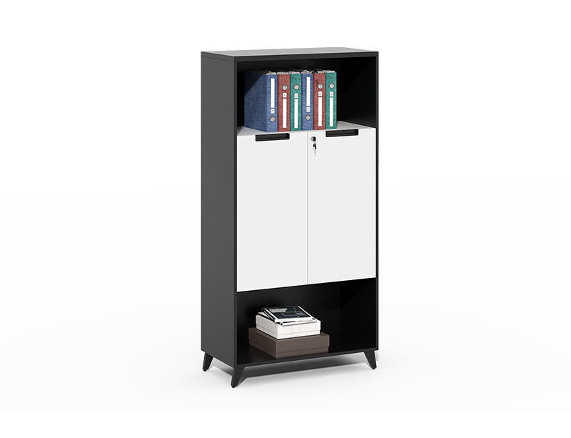 CF-CLF0816C wooden bookshelf with legs