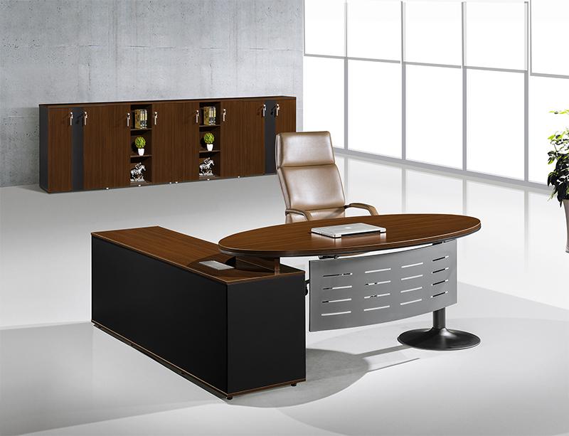 CF-DA120 Metal leg Office Boss Table