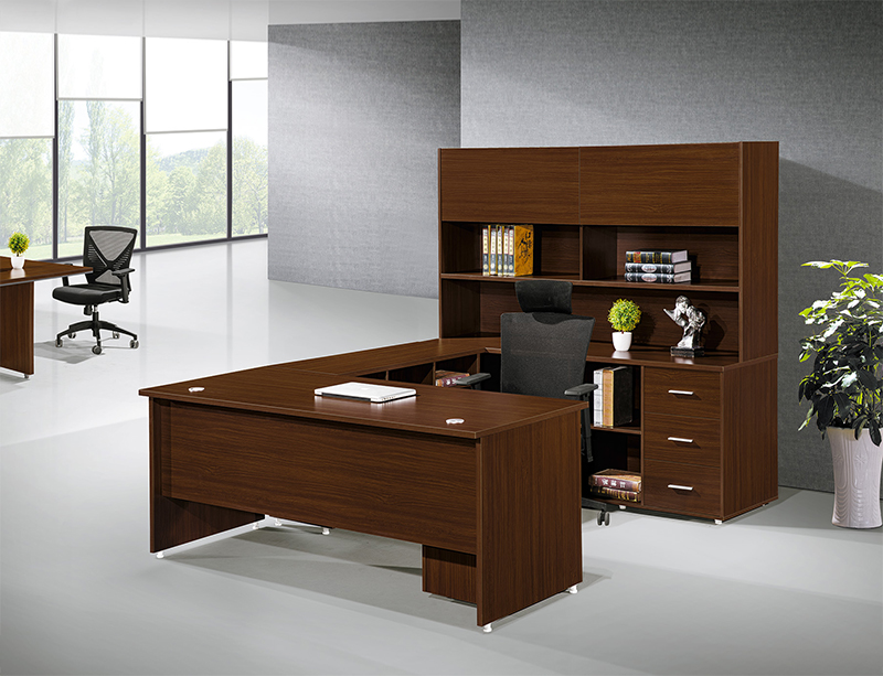CF-DA124 Manager Desk with Bookcase