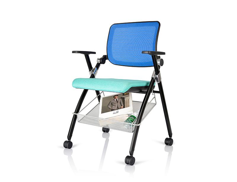 CF-ED-02AB Training Chair with Wheels