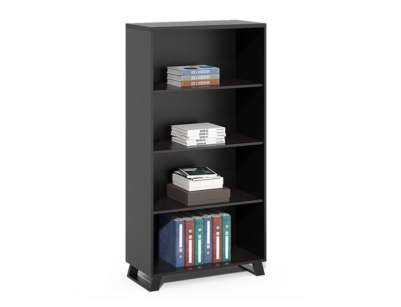 CF-HLF8016D metal leg open bookcase