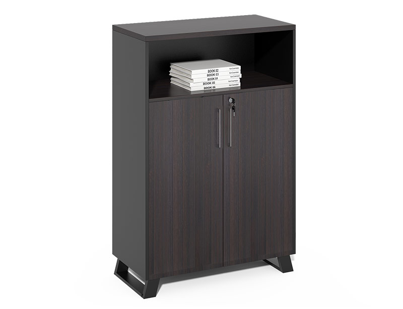 CF-HLF0812C Swing door storage wooden filing cabinet
