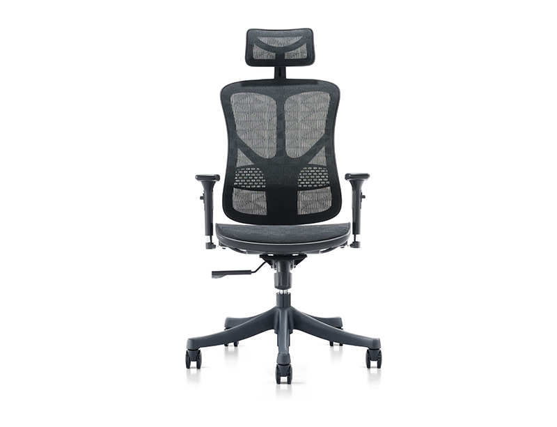 CFJNS-526 black mesh office chair
