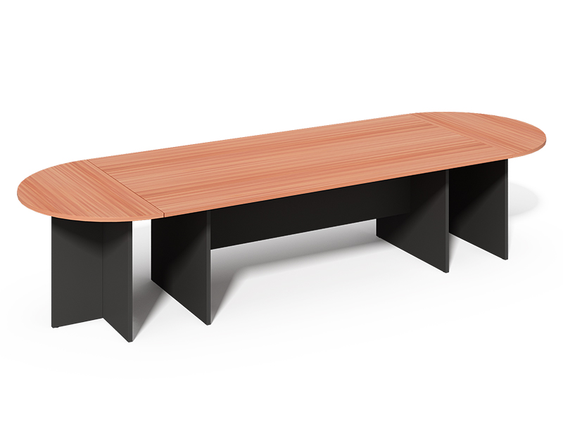 CF-2710M Wooden Oval Shape Meeting Table