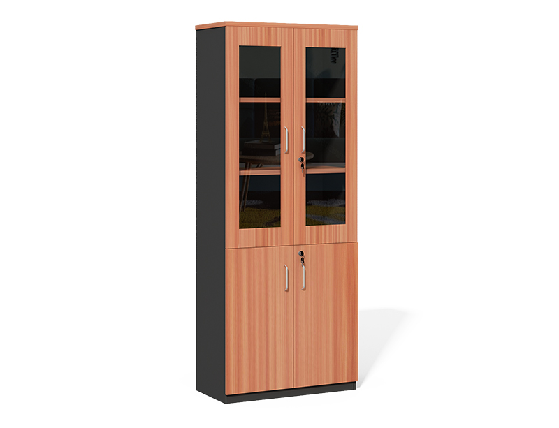 CF-2000X File Cabinet Wooden Frame with Glass Door