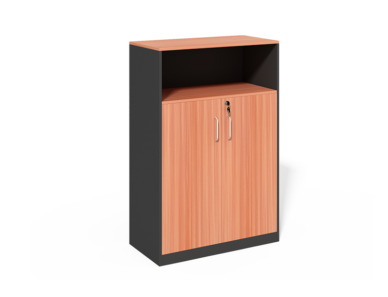 CF-1200T Storage cabinet with Open Shelf and Swing Door