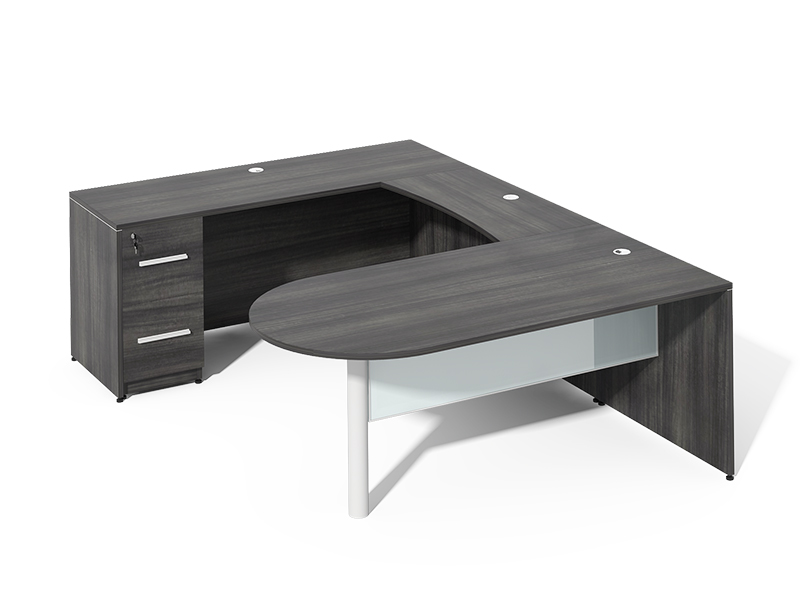 U shaped executive office desk for sale