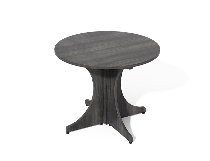 meeting room Round Conference Table Rounded X-Base