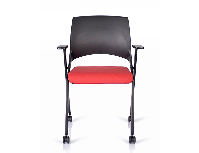 Cheap Best Choice Black  Fabric Molded Foam comfortable folding chairs CF-ID04