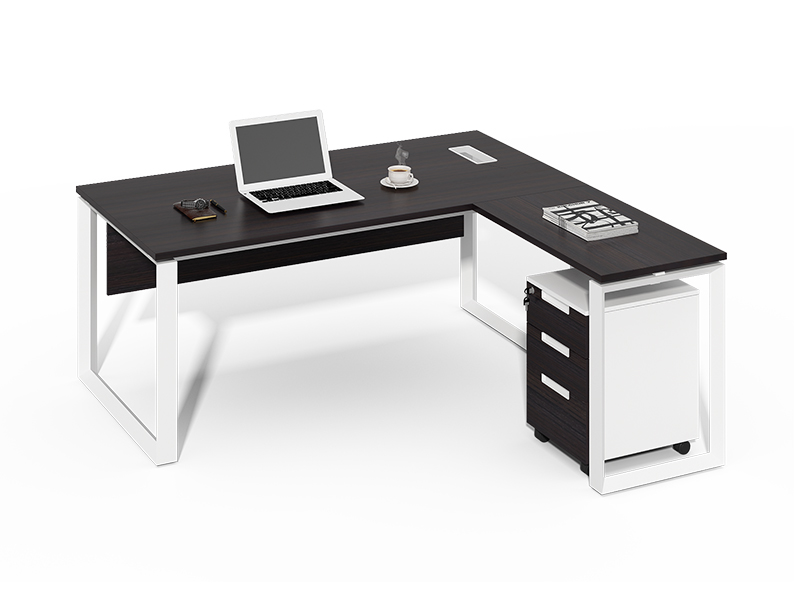 Cheap Excellent Quality l type executive table for office CF-D1680B