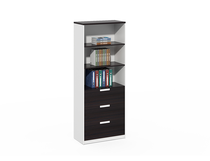 Lateral 3 drawer wood file cabinet for sale CF-DF0820B