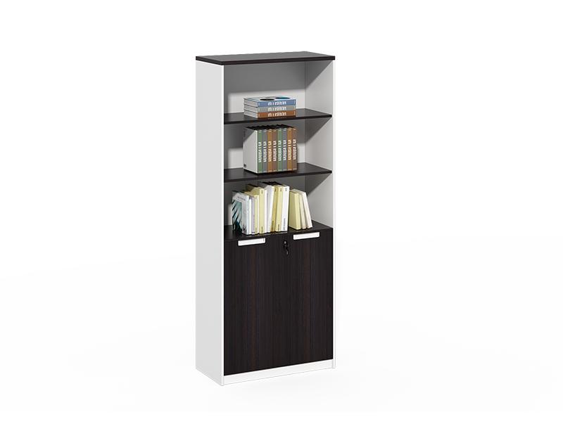 Modern 3 layer open wood file cabinet CF-DF0820C