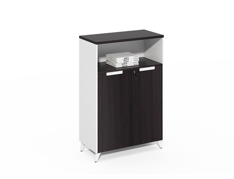 Open shelf small file cabinet with lock CF-DF0811B