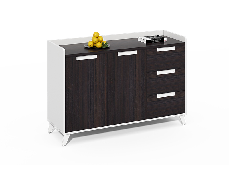 Hot selling 3 drawer coffee file cabinet for office CF-CLC1240ZH