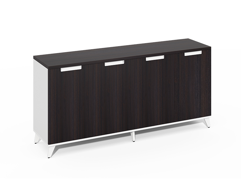 Long Service Life Useful 4 wooden door long closed storage cabinet CF-CLC2440ZB