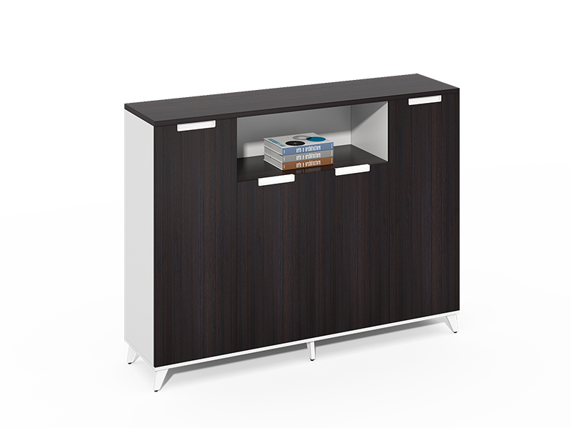 Cheap Best Choice 4 swing door wooden lockable filing cabinet CF-CLC1240ZR