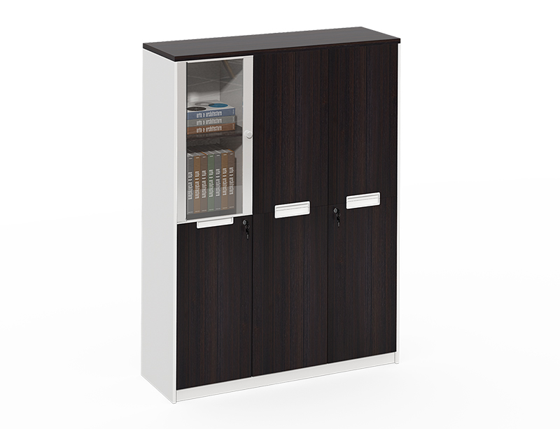 black lateral file cabinet