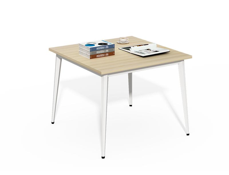 Easy assambling small square metal frame meeting room desk CF-BKM8080C