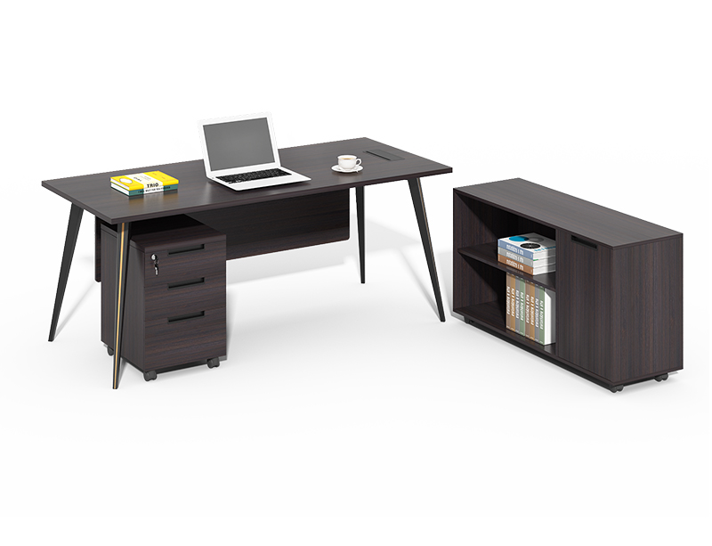 L type executive office table