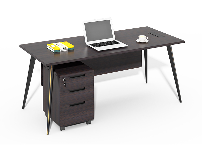 simple wooden office desks
