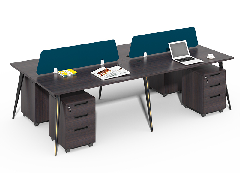4-cubicle office workstation