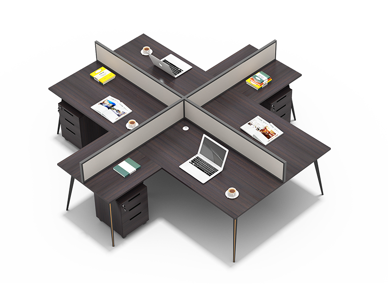 4 person office  partition