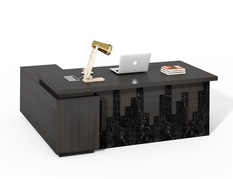 Executive office table with Fixed side table price list LQCE-11